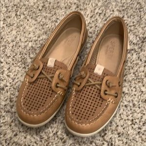 Sperry Brand slip on shoes. Size 6